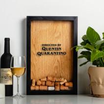 """Копилка для винных пробок """"Quentin Quarantino"""""""