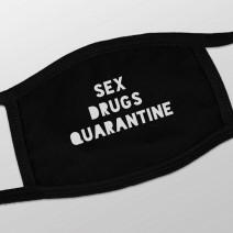 "Маска защитная ""Sex, Drugs, Quarantine"""