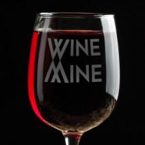 """Бокал для вина """"Wine mine"""""""