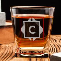 Стакан для виски персонализированный