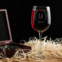 Бокал для вина именной