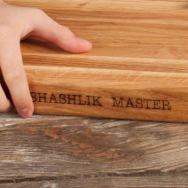 "Доска разделочная ""Shashlik Master"" M, 35 х 25 х 4 см"