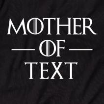 """Футболка GoT """"Mother of"""" персонализированная женская"""