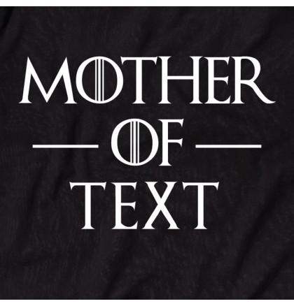 """Футболка GoT """"Mother of"""" персонализированная женская, фото 2, цена 420 грн"""