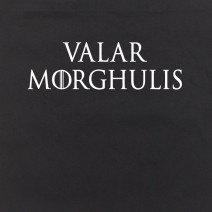 "Экосумка GoT ""Valar morghulis"""