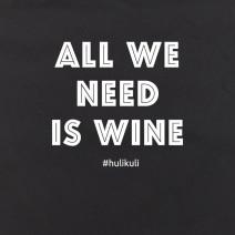 "Экосумка ""All we need is wine"""