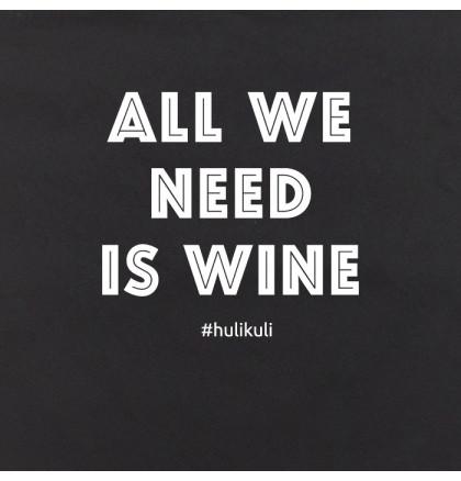"""Экосумка """"All we need is wine"""", фото 2, цена 240 грн"""