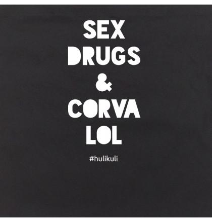 "Экосумка ""Sex drugs corvalol"", фото 2, цена 240 грн"