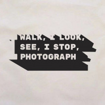 "Экосумка ""I walk, I look, I see, I stop, I photograph"""