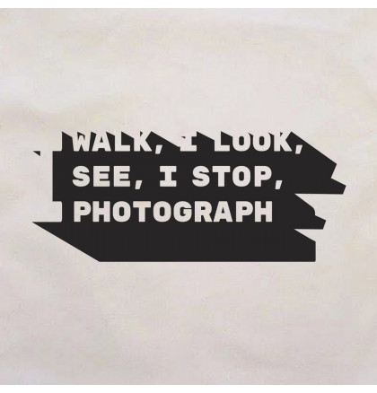 "Экосумка ""I walk, I look, I see, I stop, I photograph"", фото 2, цена 240 грн"