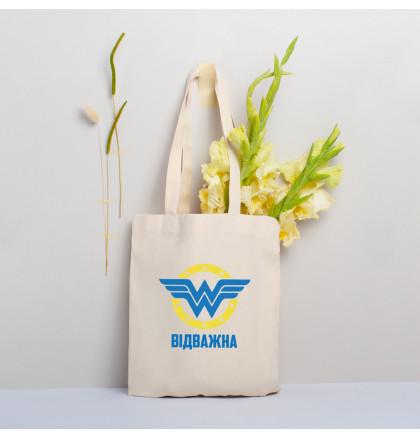 "Экосумка ""Wonderwoman"" персонализированная, фото 4, цена 330 грн"