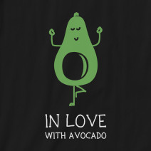"Фартук ""In love with avocado"""