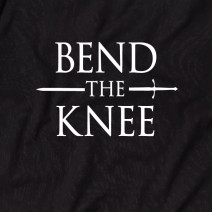 "Футболка GoT ""Bend the knee"" мужская"