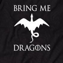 """Футболка GoT """"Bring me dragons"""" мужская"""