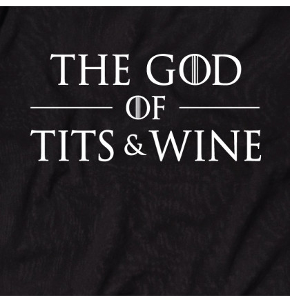 """Футболка GoT """"God of tits and wine"""" мужская, фото 2, цена 350 грн"""