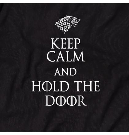 """Футболка GoT """"Keep calm and hold the door"""" мужская, фото 2, цена 350 грн"""