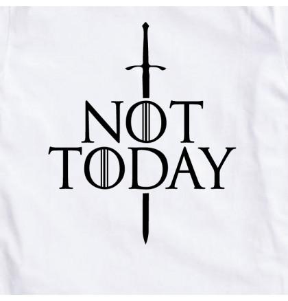 "Футболка GoT ""Not today"" женская, фото 2, цена 350 грн"