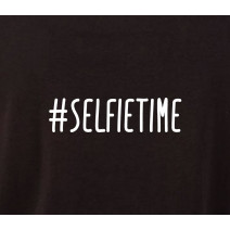 """Футболка """"#selfietime"""" женская"""