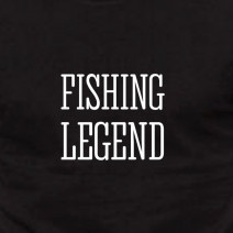 "Футболка ""Fishing legend"" мужская"