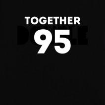 """Футболки парные """"Better together"""" персонализированные"""