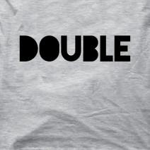 """Футболки парные """"Double Trouble"""""""