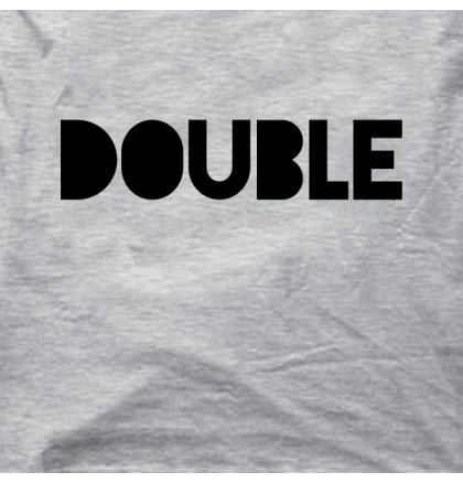 """Футболки парные """"Double Trouble"""", фото 2, цена 700 грн"""