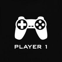 "Футболки парные ""Player 1 / Player 2"""