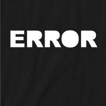 """Футболка """"Error"""" женская"""