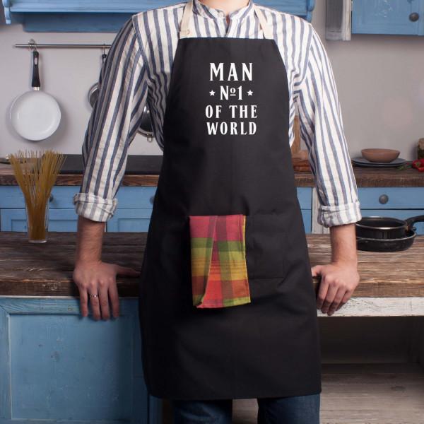 "Фартук ""Man №1 of the world"", фото 1, цена 390 грн"