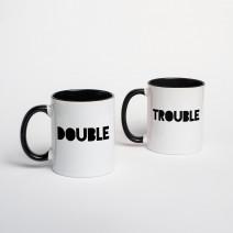 """Кружки парные """"Double Trouble"""""""