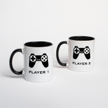 "Кружки парные ""Player 1/2"""