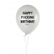 "Шарик надувной ""Happy Fu*king Birthday"""