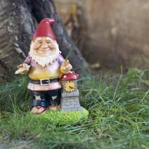 Садовая фигура «Гном Whatzuuup dude!»