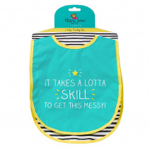 "Набор нагрудников ""It takes a lotta skill"""