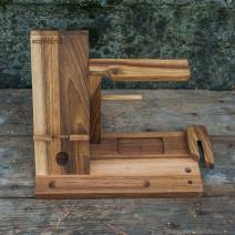 Мужской органайзер из дерева