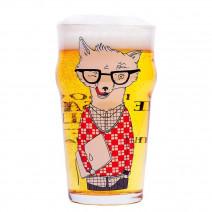 """Пивной бокал """"Пиво - це набагато більше ніж.."""""""