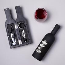 "Набор для вина в бутылке ""Wine help is here"""