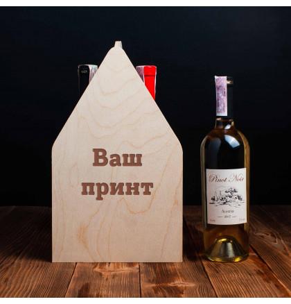 """Ящик для пива """"Конструктор"""" персонализированный, фото 3, цена 599 грн"""