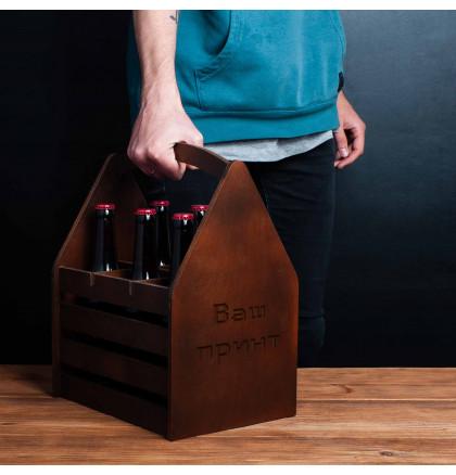 """Ящик для пива """"Конструктор"""" персонализированный, фото 2, цена 599 грн"""