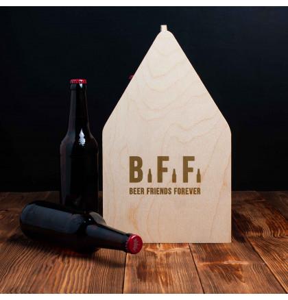 "Ящик для пива ""Beer Friends Forever"", фото 2, цена 499 грн"