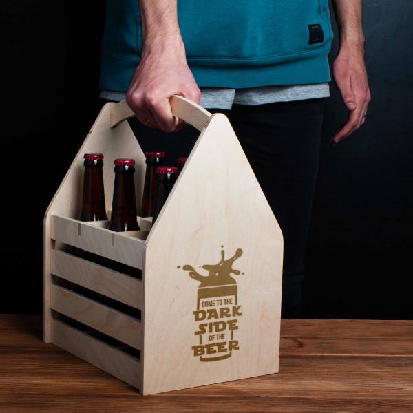 """Ящик для пива """"Come to the dark side of the beer"""", фото 1, цена 499 грн"""
