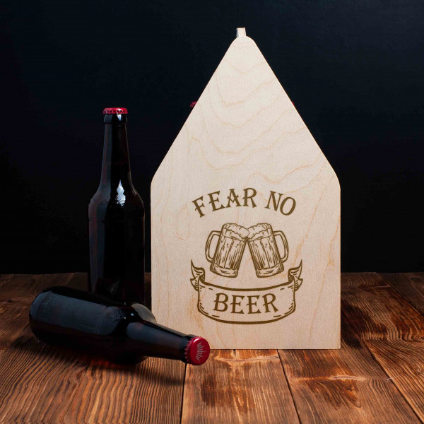 "Ящик для пива ""Fear no beer"", фото 1, цена 499 грн"