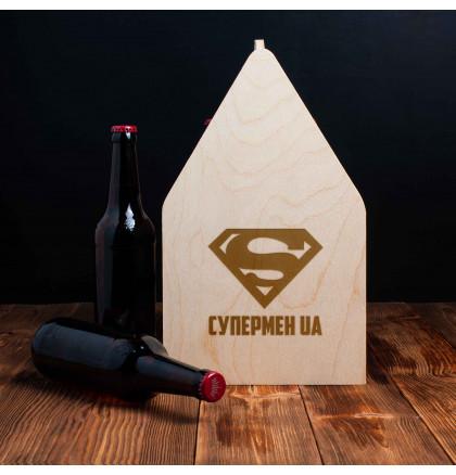 """Ящик для пива """"Супермен UA"""", фото 2, цена 499 грн"""