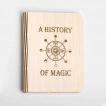 """Книга ночник """"A history of magic"""" L"""