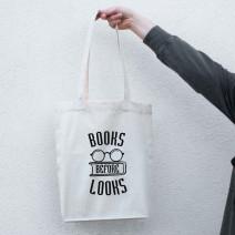 "Экосумка ""Books before looks"""