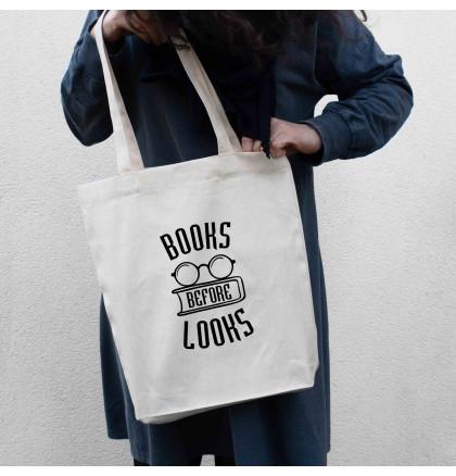 "Экосумка ""Books before looks"", фото 3, цена 240 грн"