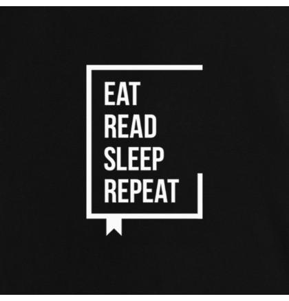 "Футболка ""Eat Read Sleep Repeat"" женская, фото 3, цена 350 грн"