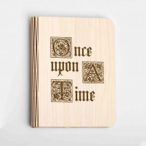 "Книга ночник ""Once upon a time"" L"