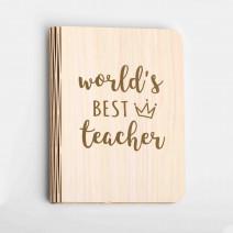 "Книга-ночник ""World`s best teacher"" L"