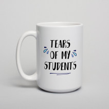 "Кружка ""Tears of my students"""